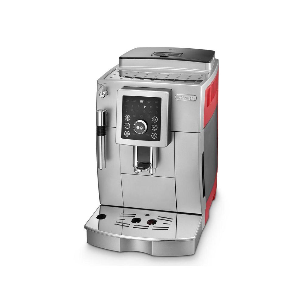 5df5dba0a Máquina de Café Espresso DeLonghi Superautomática Vermelha ECAM ...